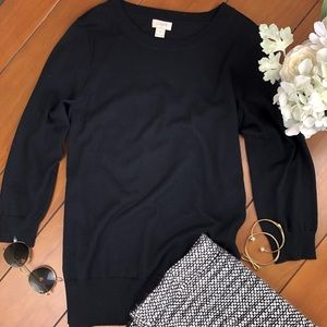 J. Crew wool crewneck sweater